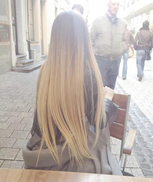my hair is this long