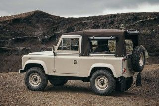 This Restored Land Rover Defender 90 Is A Pure Vintage Monster