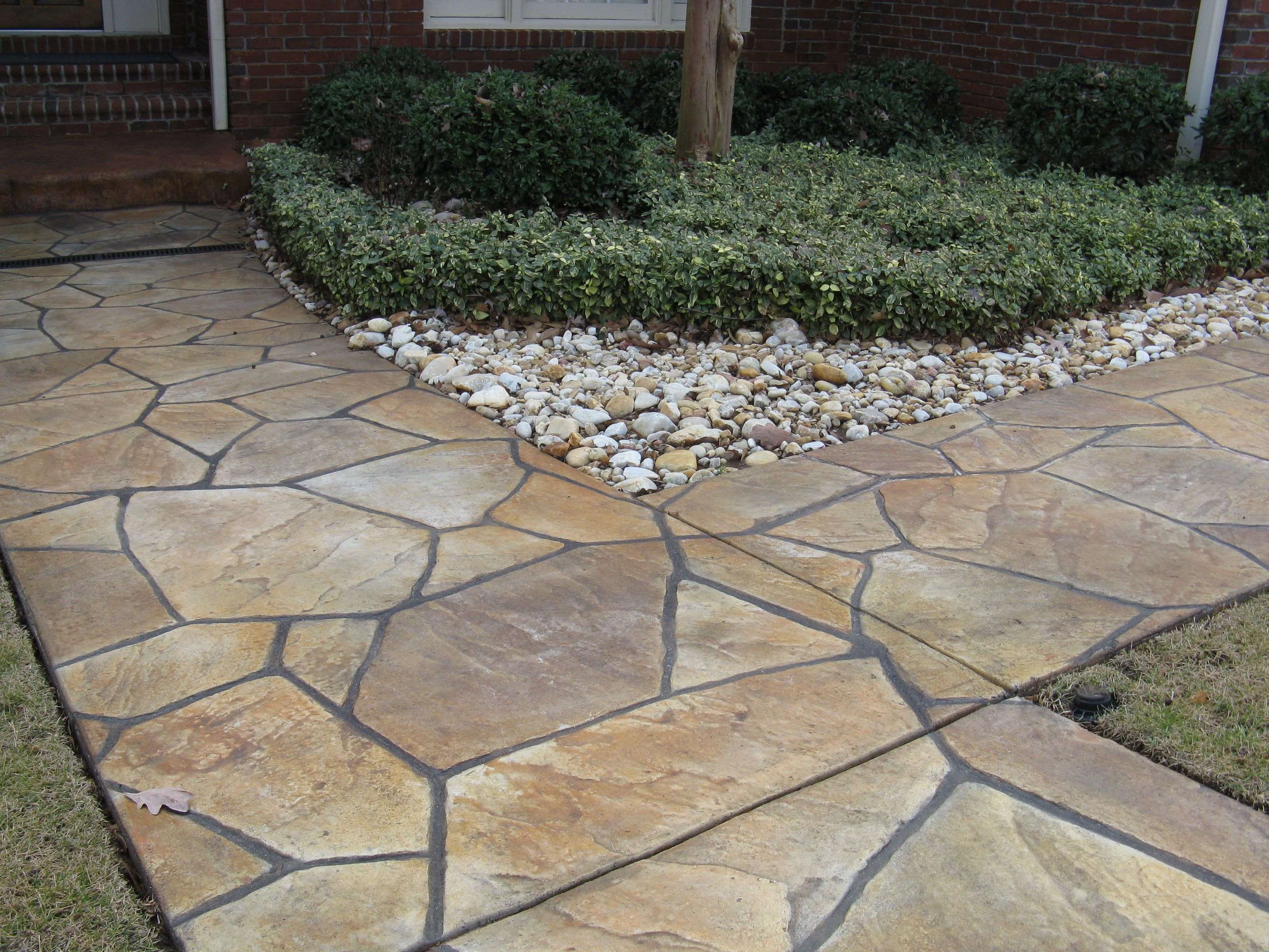 Filler For Stone Patio : Lovely flagstone patio filler graphics design