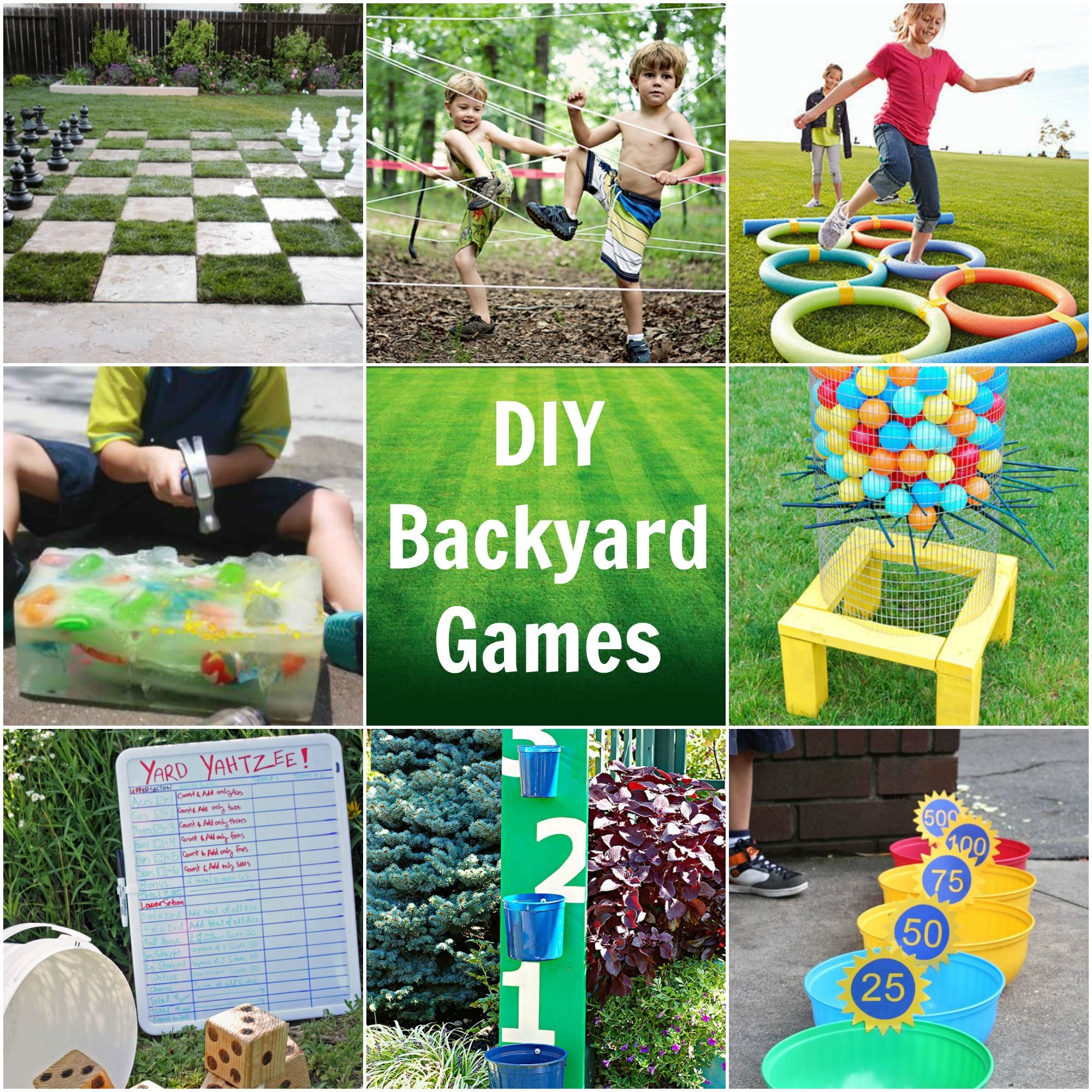 Cool DIY Outdoor Game Ideas Fun for all the family