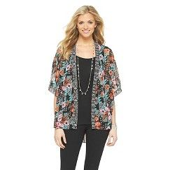 Women's Kimono Jacket w/Lace Detail Multi-Color XS/S - Black Rainn. Get substantial discounts up to 50% Off at Target with Coupons and Promo Codes.