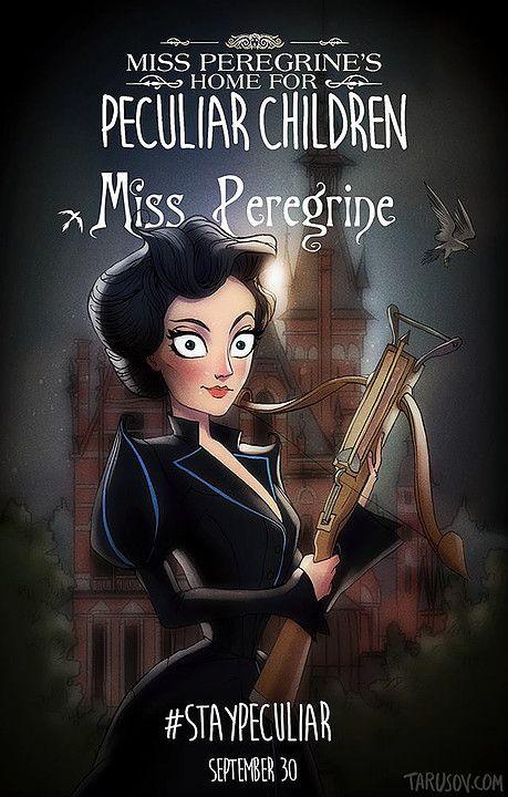 Miss Peregrine El Hogar De Miss Peregrine Para Ninos Peculiares