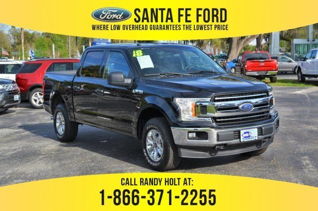 Used Ford 4x4 Trucks For Sale >> Used 2018 Ford F 150 Xlt 4x4 Truck For Sale Gainesville Fl