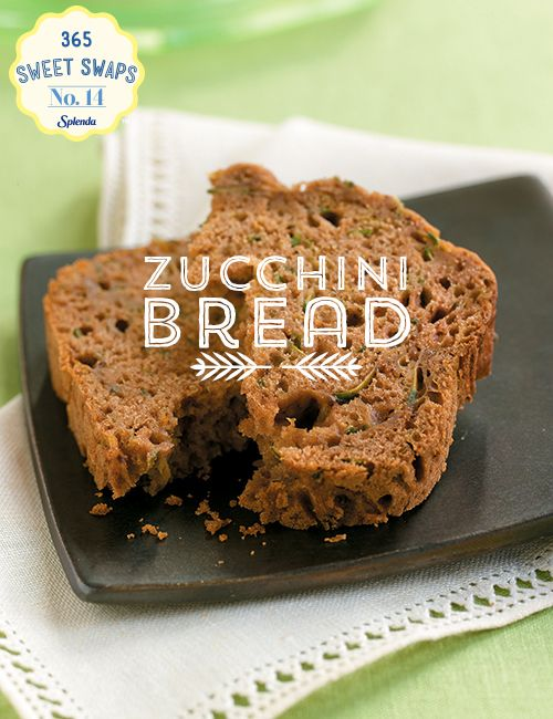 freshbaked zucchini bread check less added sugar check