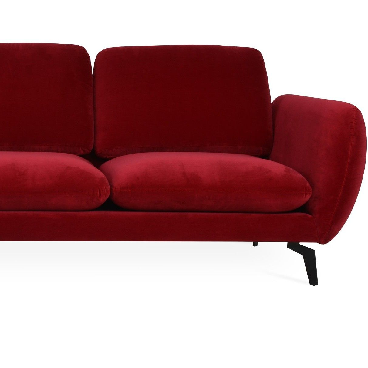 Paloma Sectional is a #contemporary #sectional #sofa with ...