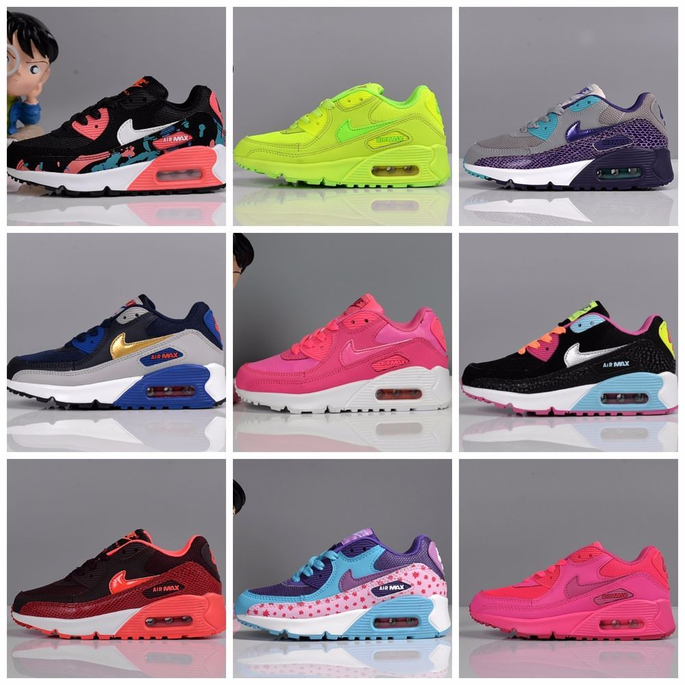 brand new ea544 1db4c ... wholesale nike air max 90 kids youth boys girls children shoes nike  f75db 6d513