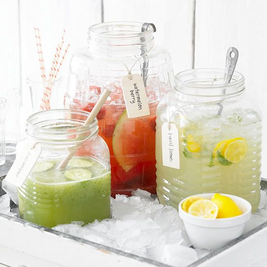 twists on summer lemonade, yum!