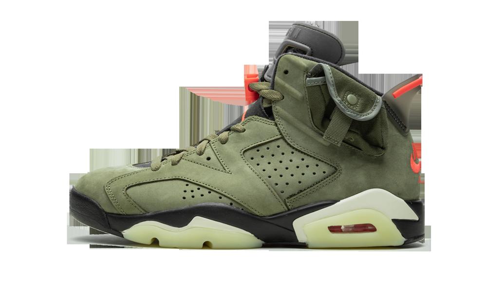 Air Jordan 6 Retro Cactus Jack Travis Scott Cn1084 200 2019 Air Jordans Air Jordan Shoes Travis Scott Shoes