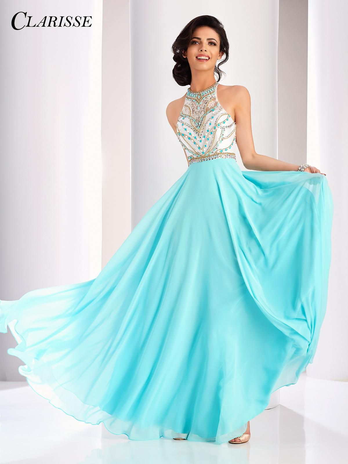 Pin by Livi Parkin on prom dresses | Pinterest | Prom, Halter gown ...