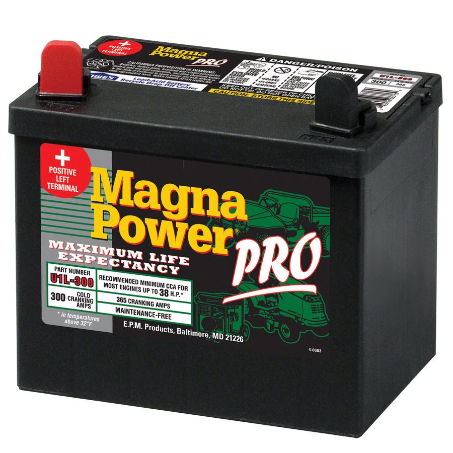 Magna Power 12 Volt 365 Amp Lawn Mower Battery Lowes Com In 2020 Lawn Mower Battery Mower Lawn Mower