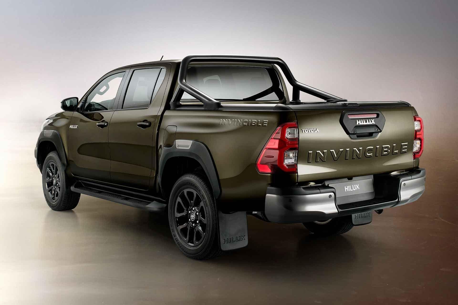 Toyota Hilux Invincible X Truck In 2020 Toyota Hilux New Trucks Toyota