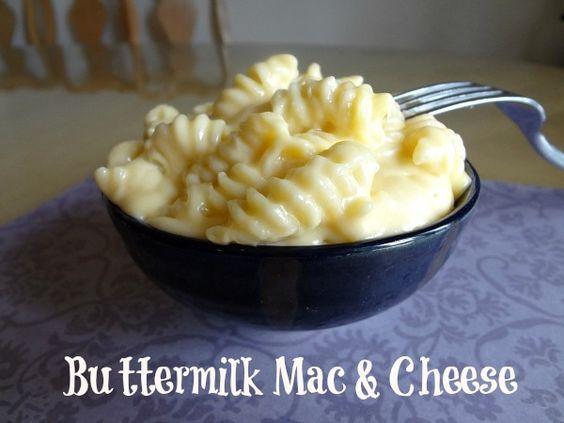 Comfort Food Buttermilk Mac Cheese Comfort Food Buttermilk Recipes Food