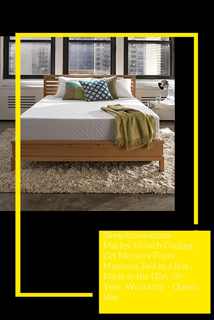 Sleep Innovations Marley 10 Inch Cooling Gel Memory Foam Mattress