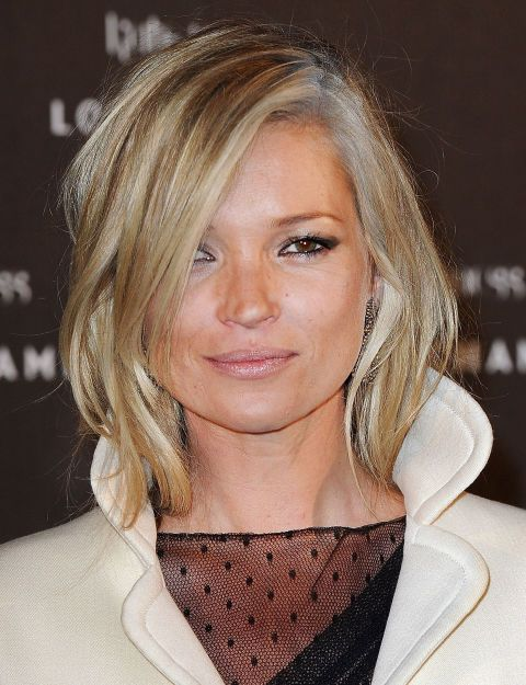 30 Celebrities Who Ve Made Going Gray Look So Chic Short