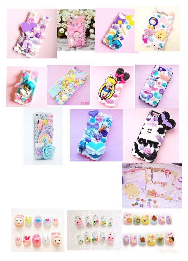 """""""Kawaii"""" by pamsailing ❤ liked on Polyvore featuring Samsung, cutekawaii, women's clothing, women's fashion, women, female, woman, misses and juniors"""