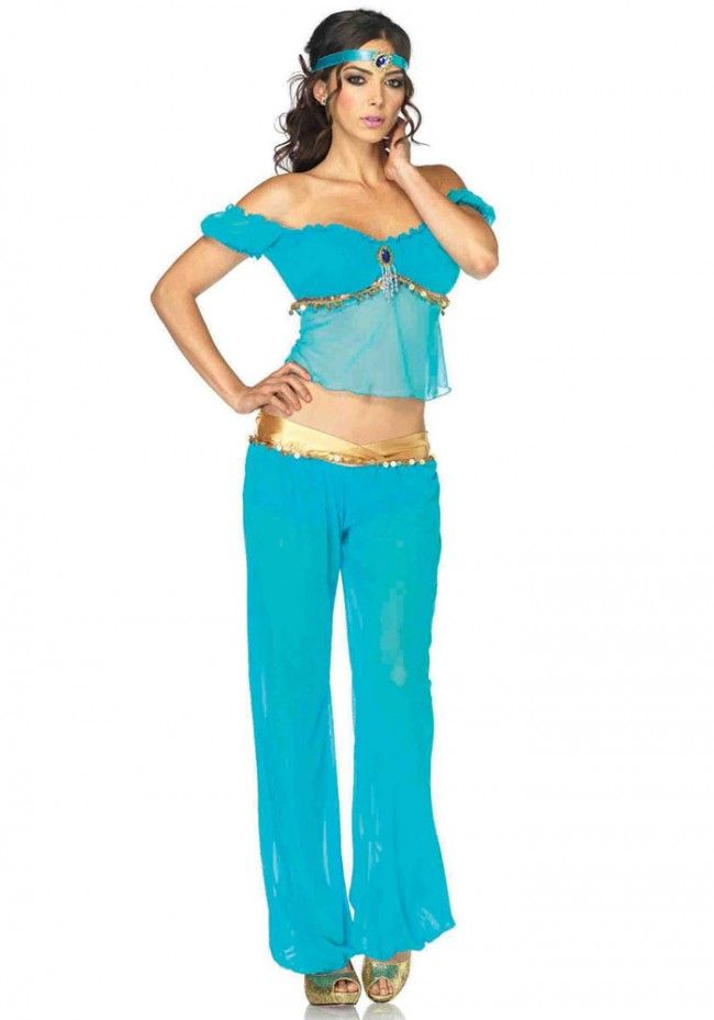Leg Avenue - Arabian Beauty Jasmine Costume Set