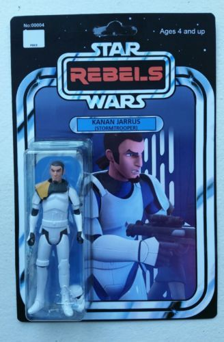 STAR WARS Rebels Kanan Jarrus Figure Stormtrooper Disguise