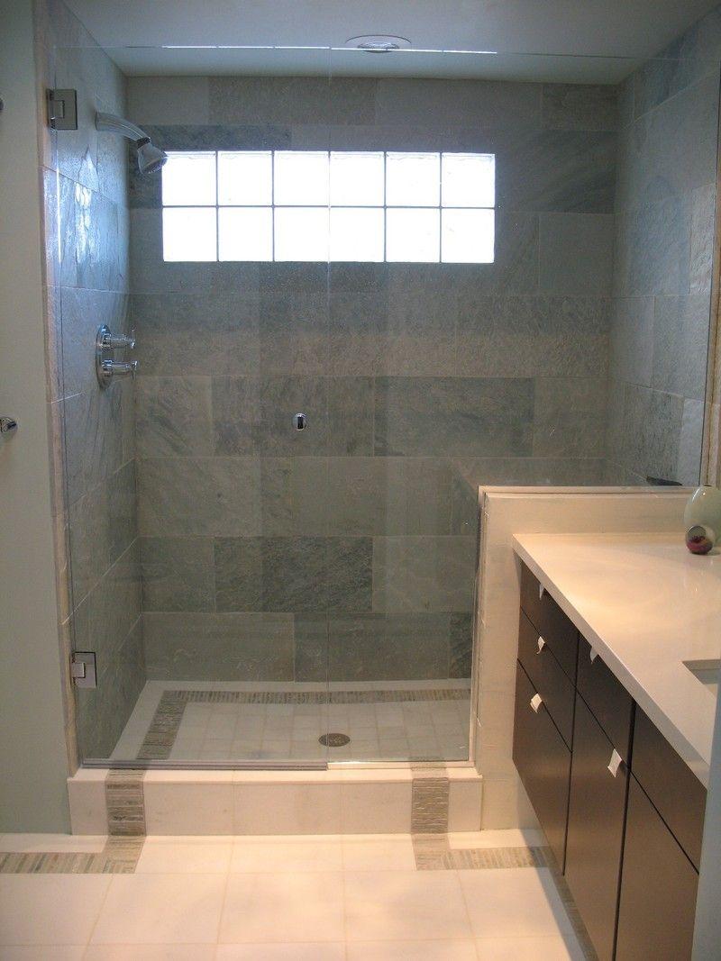 Walk In Shower Designs No Door  Design A Logical Next Step - Walk in shower designs no door