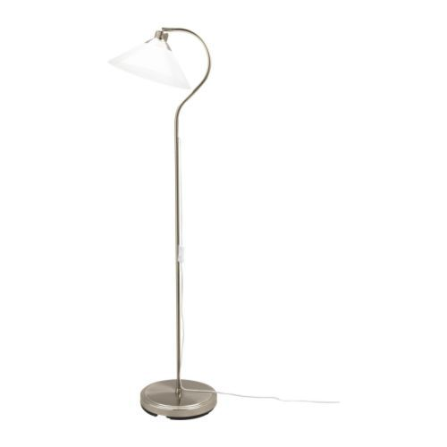 Kroby floor reading lamp ikea shade of mouth blown glass each shade is unique 29 99