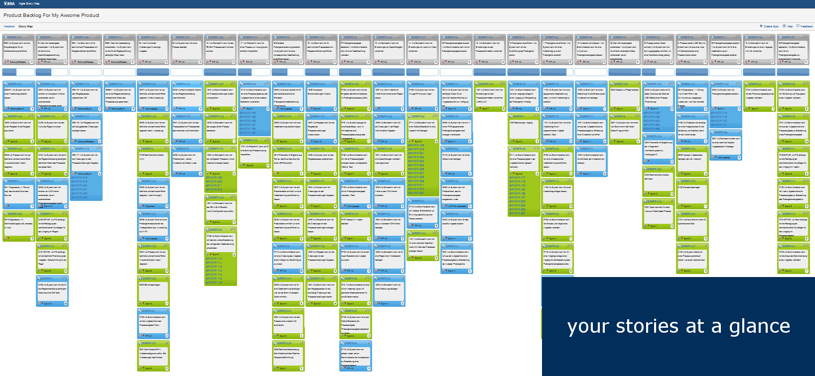 agile user story map for jira i. Black Bedroom Furniture Sets. Home Design Ideas