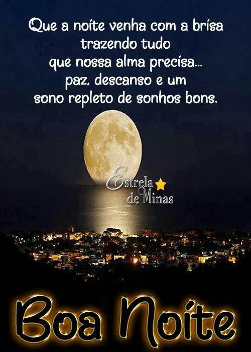 Ideia Por Jeanderson Alves Em Eliane Mensagem De Boa Noite