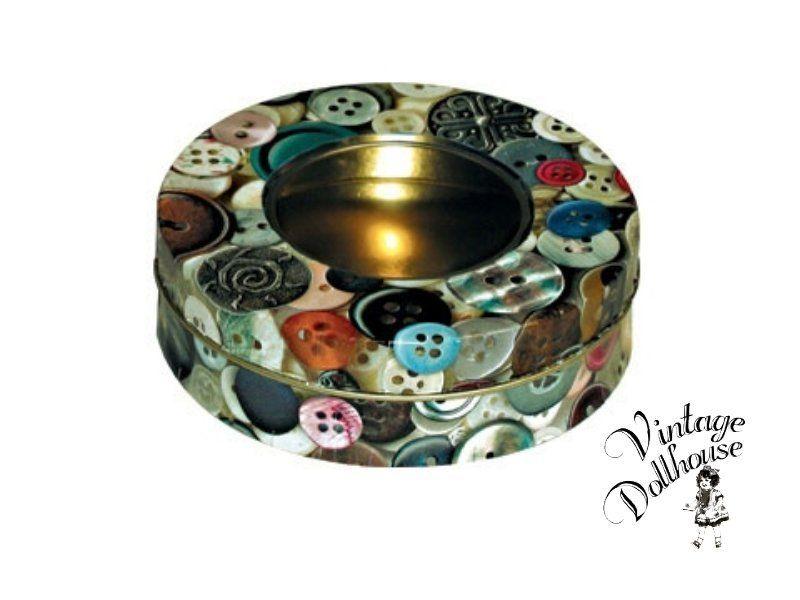 Weiteres - Blechdose Dose 'Buttons' - ein Designerstück von vintage-dollhouse bei DaWanda