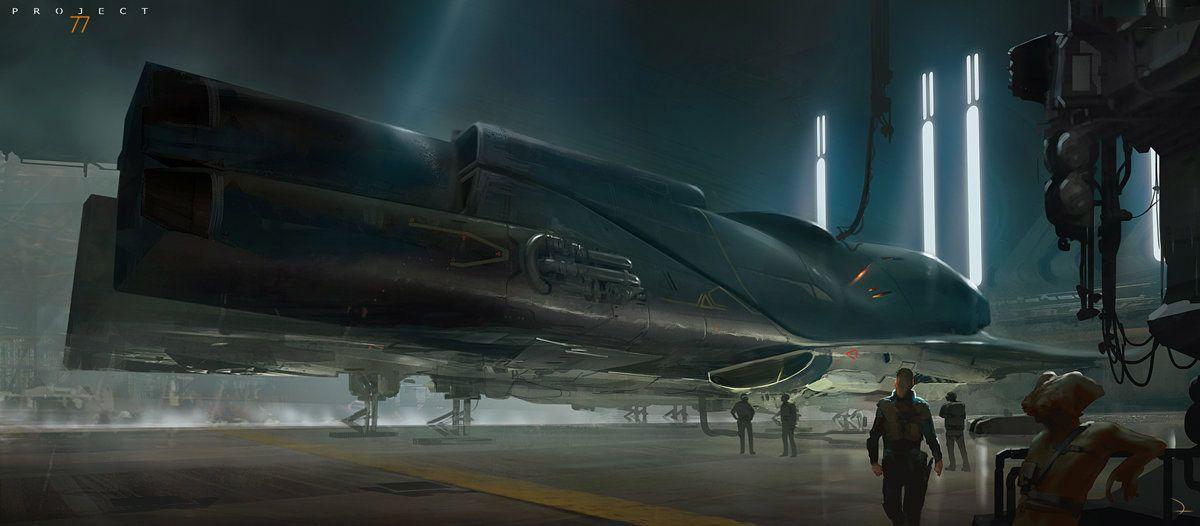 science fiction universe of Martin Deschambault