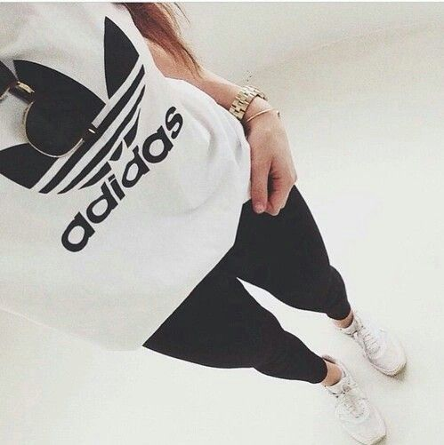Image de adidas, fashion, and outfit