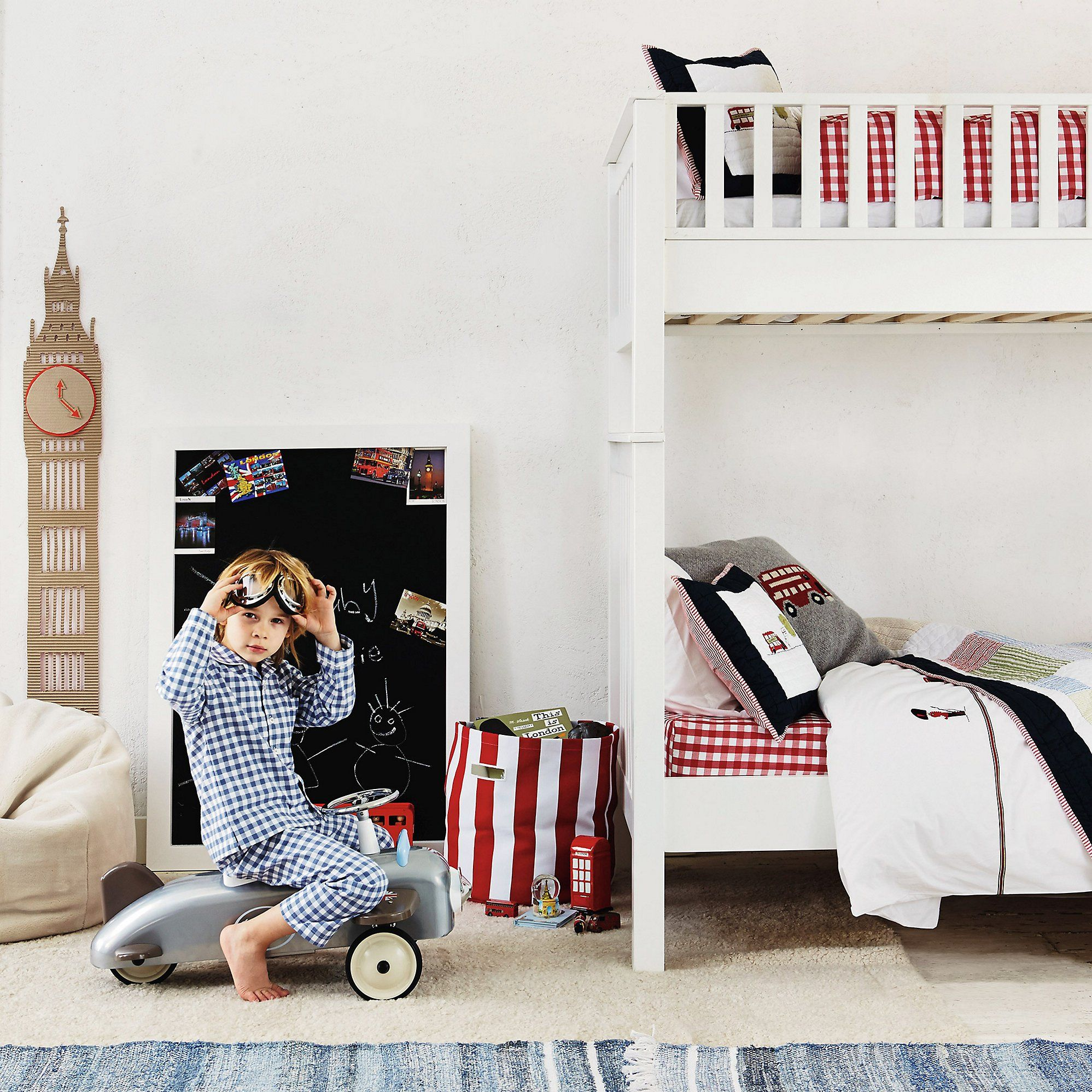 London Bed Linen From The White Company Childrens Bed Linen London Bedroom Themes The White Company