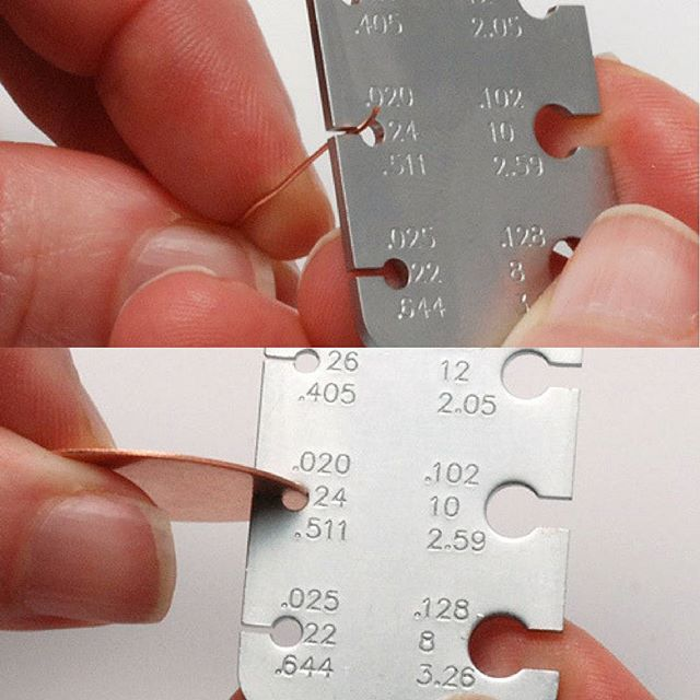 Gauge Is The Measurement For The Thickness Of Metals It Is The Same For Wire As It Is For Sheet Using Jewelry Making Tools Diy Jewelry Making Jewelry Making