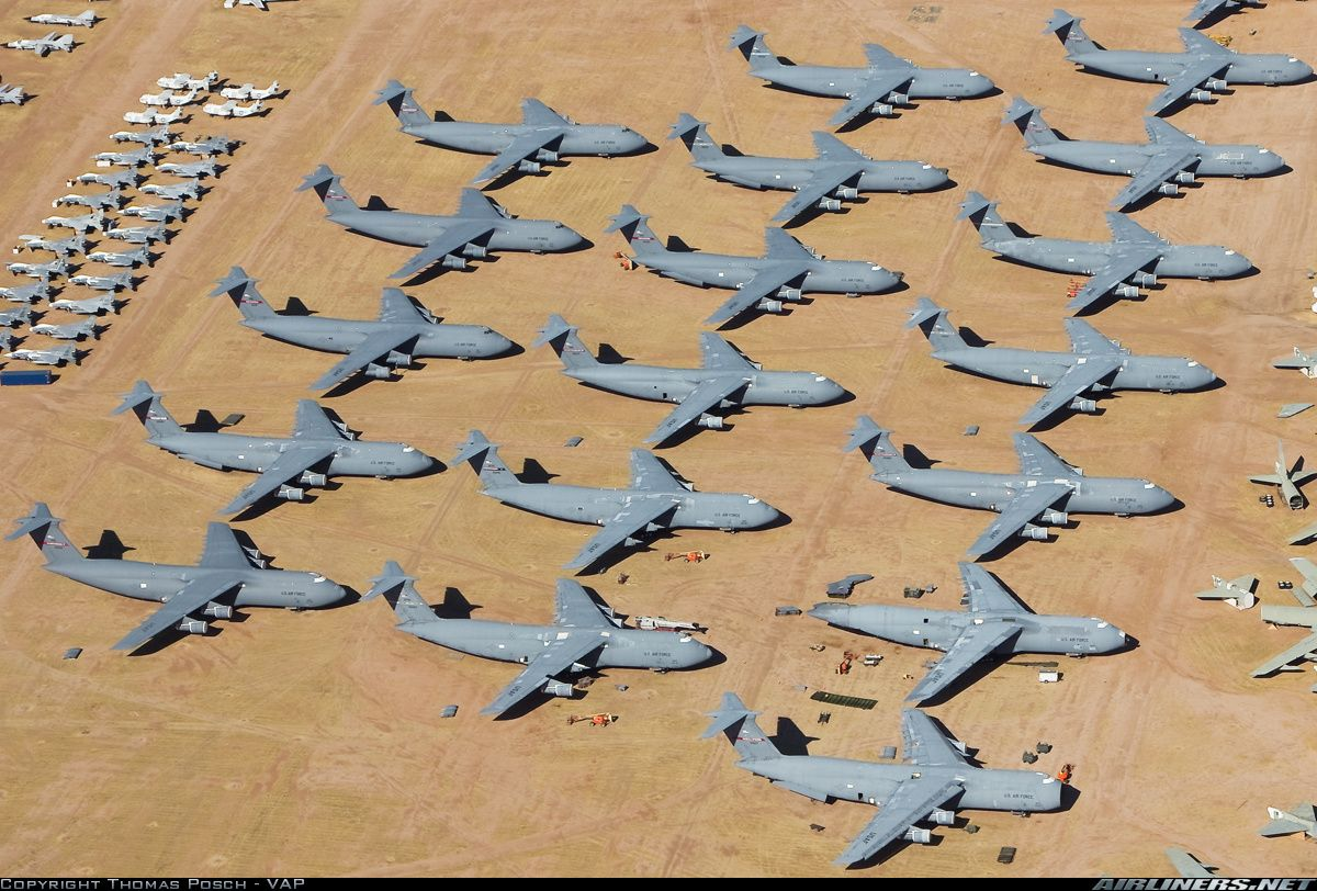 Photos: Lockheed C-5A Galaxy (L-500) Aircraft Pictures | Airliners.net