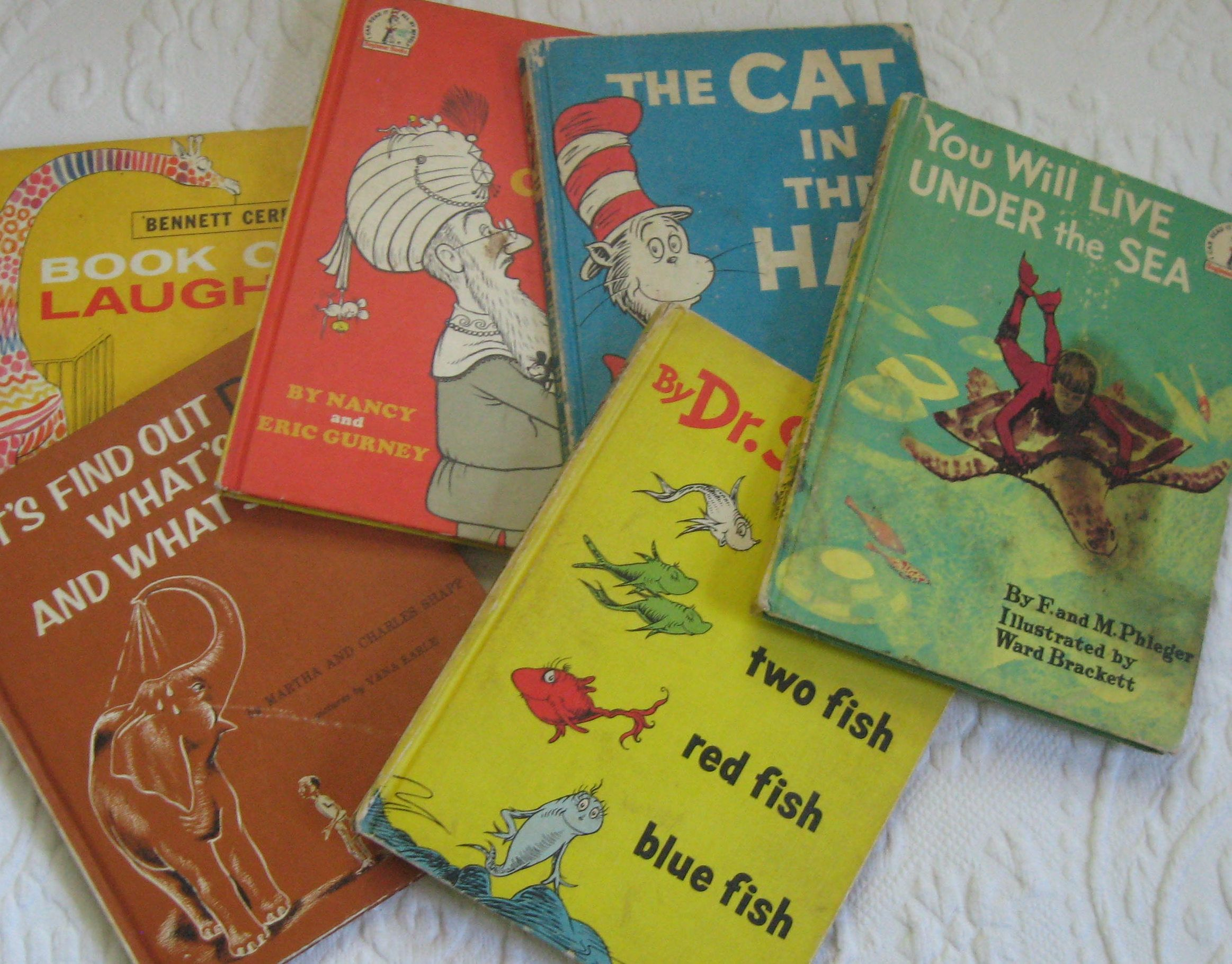 Dr. Seuss Books . beginner books . Dr. Seuss first edition . 50s/60s children's  books . lot of 6 by vintagous on Etsy