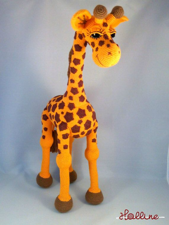 Crochet Pattern Giraffe April Crochet Amigurumi Giraffe English