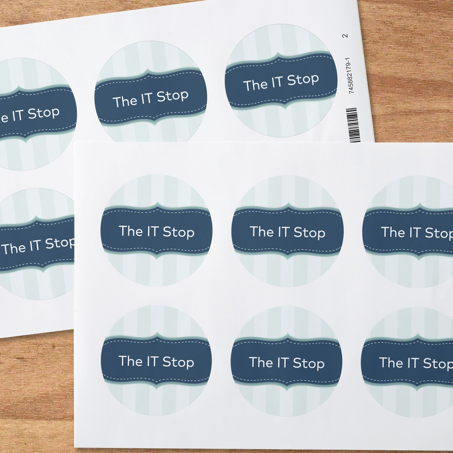 Vistaprint labels and stickers promote your small business now