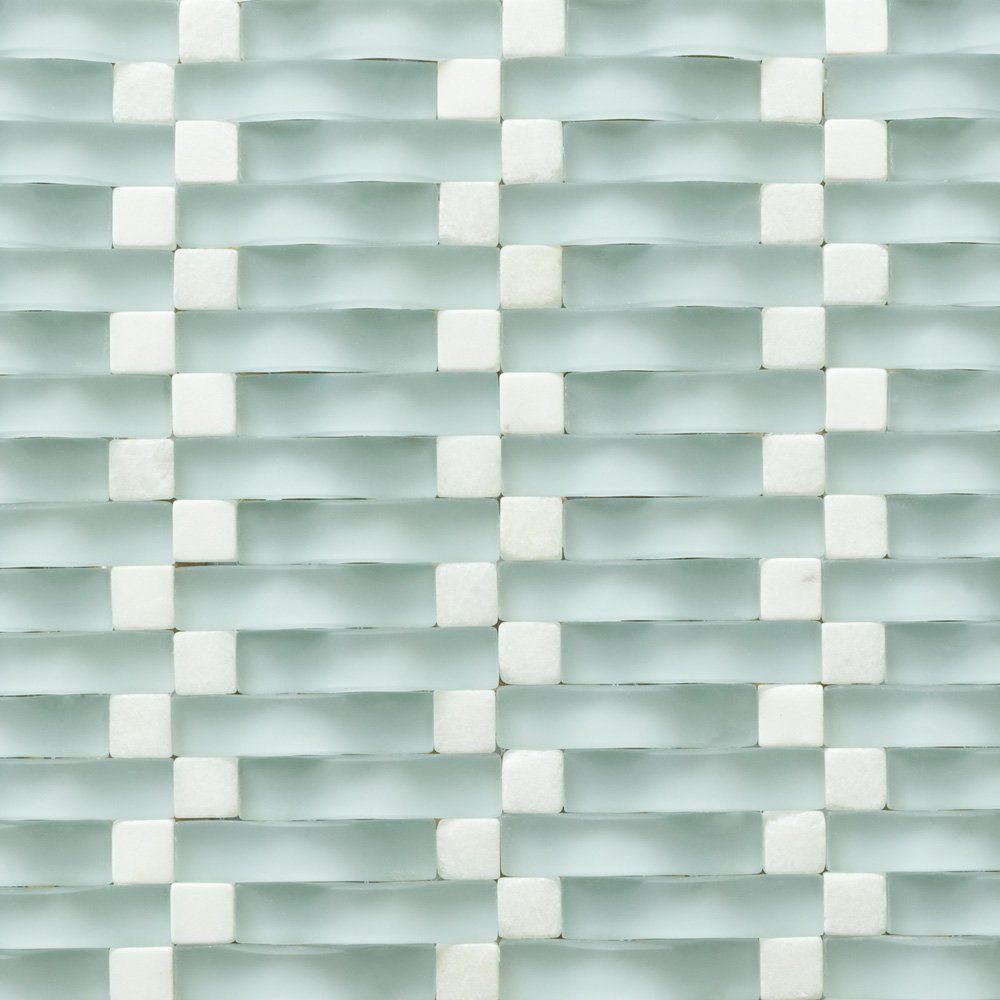 Backsplash Tile Wall Bathroom For Kitchen Shower Mosaic 12x12 Sheets Glass Stone Blue White Martini Mosaic Bathroom Wall Tile Glass Tile Shower Glass Shower