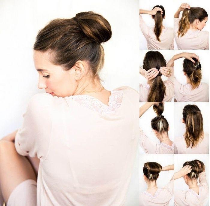 1001+ idées comment faire un chignon facile pour toutes occasions | Easy updo hairstyles ...