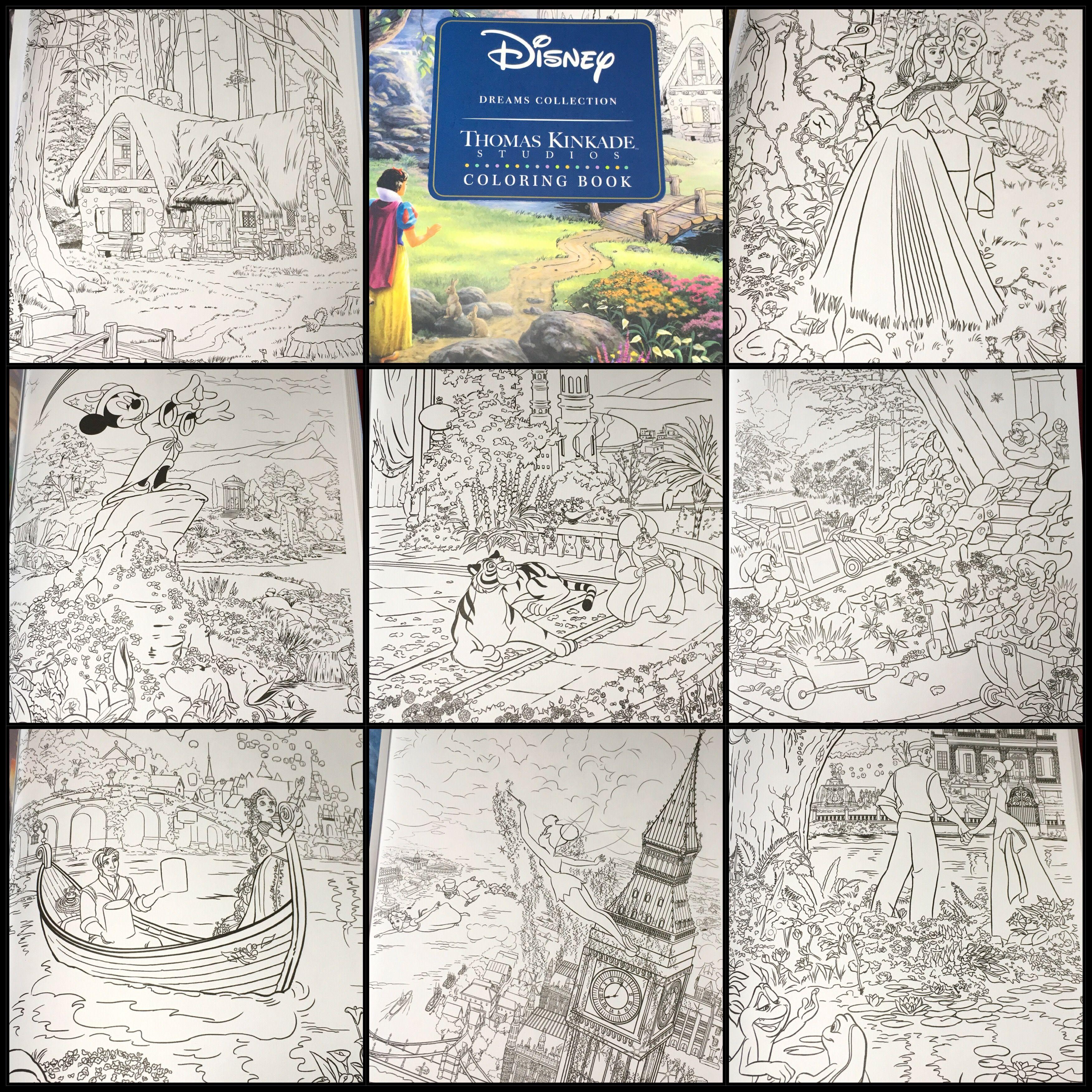 Disney Dreams Collection By Thomas Kinkade  Thomas kinkade