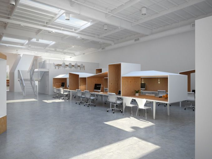Hybrid Office Los Angeles With Images Office Interiors