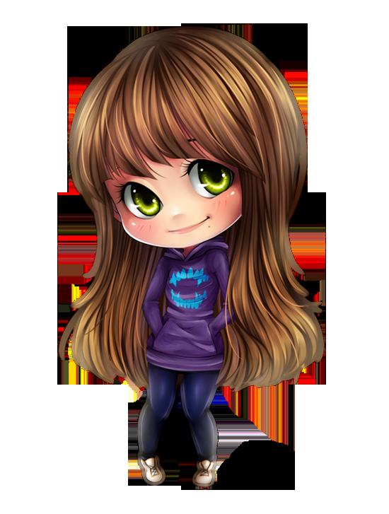 Smile By Nataliadsw On Deviantart Chibi Girl Cute Chibi Girl Cartoon