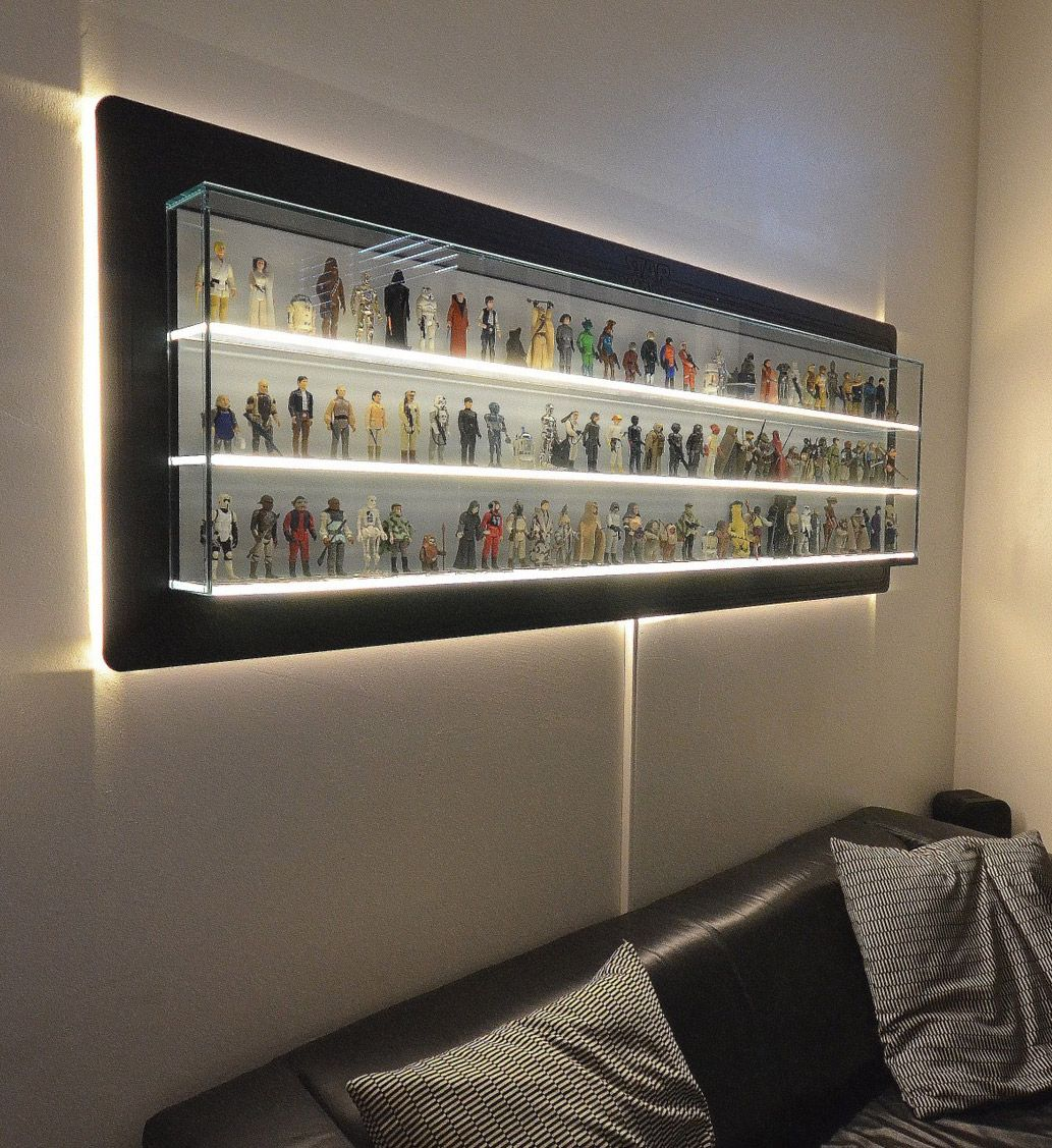 Wall Display Case For Collectibles