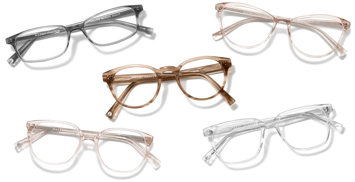 5 Eyeglasses To Try On At Home For Free My Style