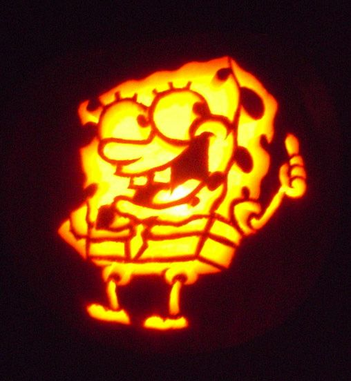 SpongeBob SquarePants Pumpkin Carving By Lugaluda