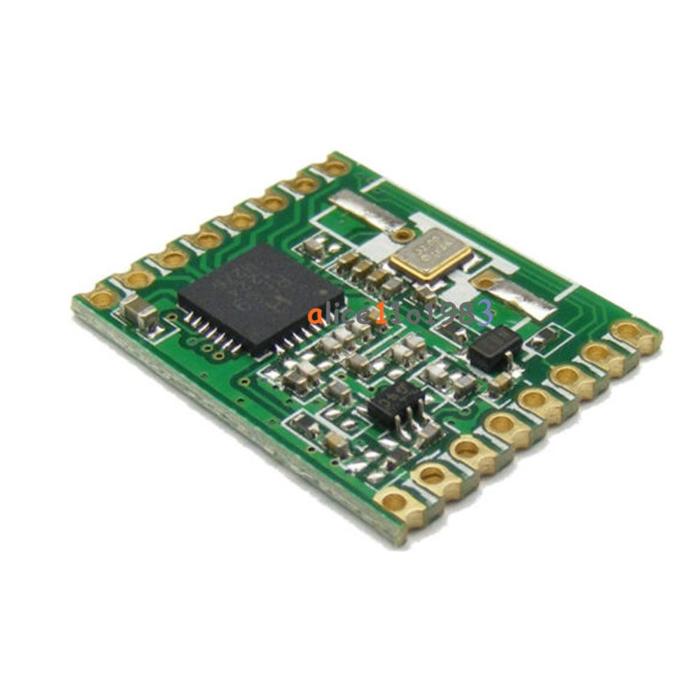 Rfm69hw 915mhz 20dbm Hoperf Wireless Transceiver 915s2for Ism Module 258 Remote Hm Ebay Electronics