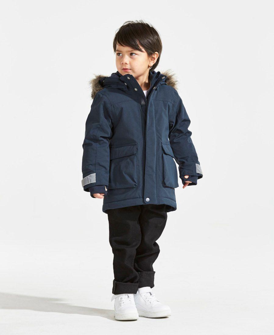 7b961ae14b Didriksons Kure Kids Parka Jacket - Navy. SPORTBABY