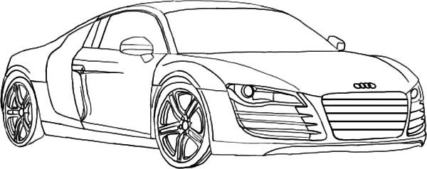 HowtoDrawAudiCarsSedanColouringPagejpg - Audi car drawing