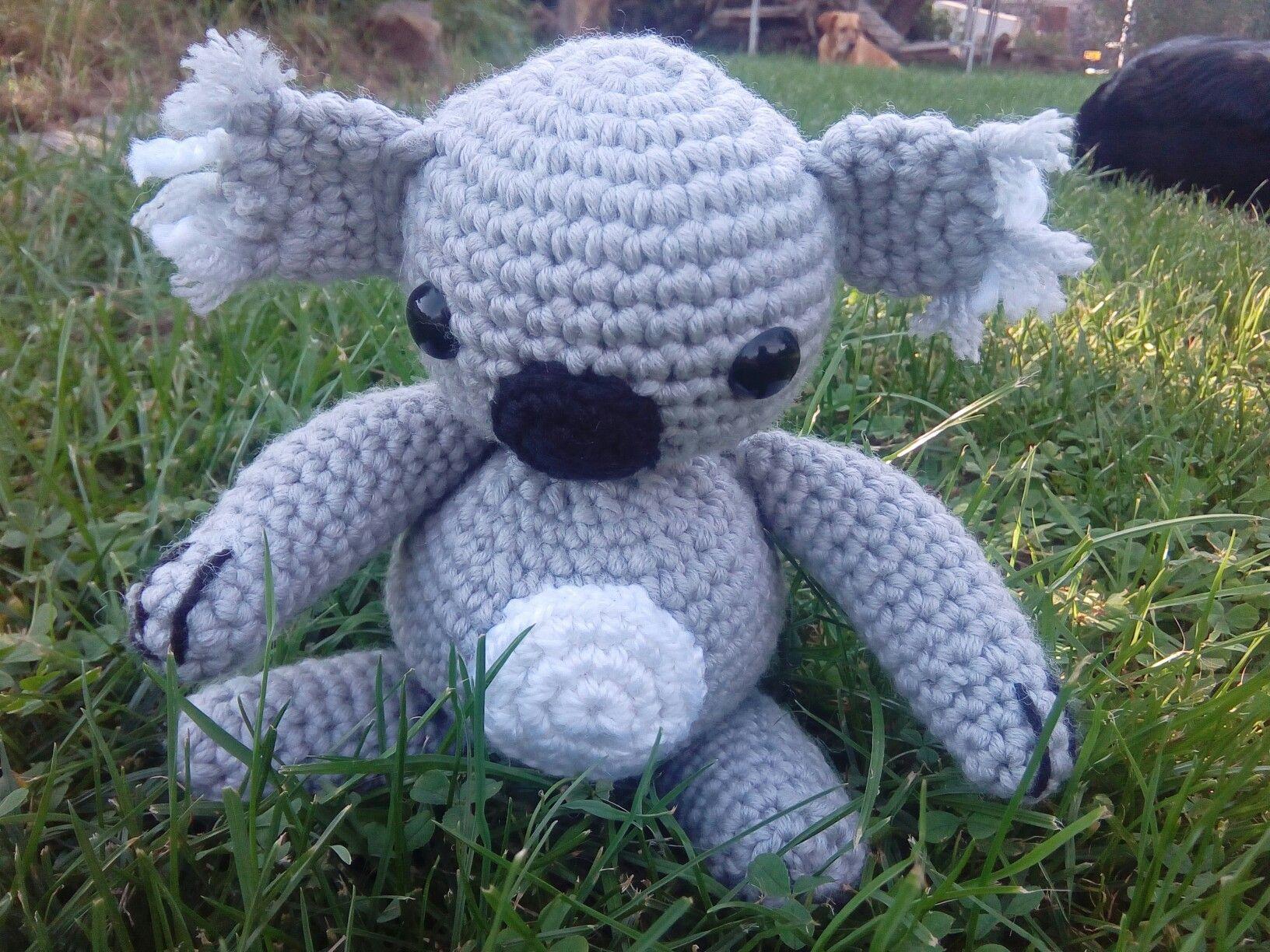 Koala Bär #amigurumi #koala#häkeln | Amigurumis häkeln für Anfänger ...