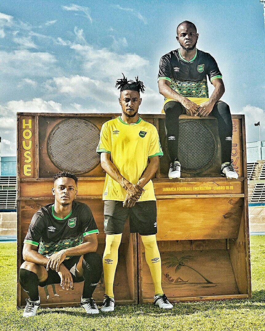 Jamaica Football Federation 2018 Umbro Jff Reggaeboyz 18 19
