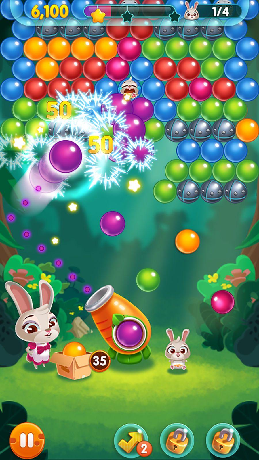 Bunny Pop! PuzzleBoardappsios