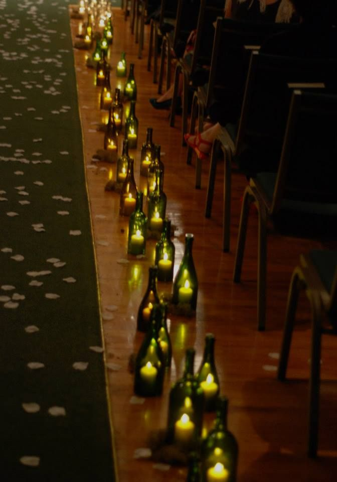 Wine Bottle Aisle Decoration By Eowynmaid On Deviantart Wine