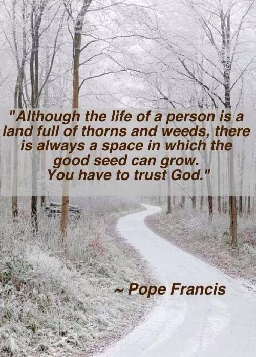 Although The Life Of A Person Is A Land Full Of Thorns And Weeds